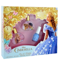 DISNEY CINDERELLA EDT 2 X 30 ML + ESMALTE DE UÑAS SET