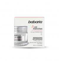BABARIA CREMA FACIAL ANTIARRUGAS INTENSIVA ANTIMANCHAS DOBLE EFECTO 50 ML