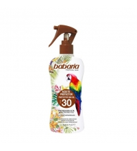 BABARIA ACEITE PROTECTOR SPF30 TROPICAL 200ML