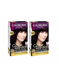 COLORCREM COLOR & BRILLO TINTE CAPILAR 46 VIOLIN x 2 UDS