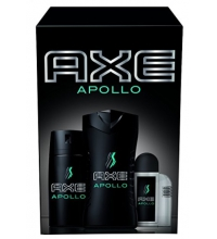 AXE PACK TRIO APOLLO A/S 100 ML+ DEO 150ML + GEL 250ML