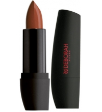 DEBORAH BARRA DE LABIOS ATOMIC RED MAT 02 TERRACOTA