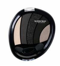 DEBORAH PERFECT SMOKEY EYE PALETTE 5 TONOS Nº 3 NEGRO