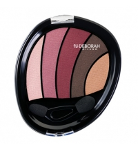 DEBORAH PERFECT SMOKEY EYE PALETTE 5 TONOS Nº 2 ROSADO