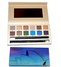 MAYBELLINE LAND DOWN UNDER EYE SHADOW PALETTE 12 SOMBRAS + BROCHA