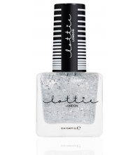 LOTTIE LONDON ESMALTE DE UÑAS FORTUNE COOKIE SILVER 12 ML