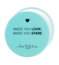 LOTTIE LONDON ESPEJO LOOK AT ME ONE SIDE MIRROR GREEN