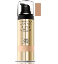 MAX FACTOR AGELESS ELIXIR 2 EN 1 MAQUILLAJE COLOR 60 SAND 30 ML