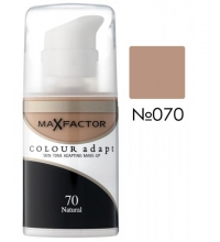 MAX FACTOR COLOUR ADAPT FOUNDATION 70 NATURAL 34 ML
