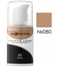 MAX FACTOR COLOUR ADAPT FOUNDATION 80 BRONZE 34 ML