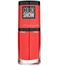 MAYBELLINE COLOR SHOW 5TH AVENUE MATTES TRAFFIC STOP 455 7ML