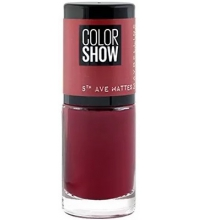 MAYBELLINE COLOR SHOW 5TH AVENUE WINE AT 5 456 7ML