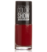 MAYBELLINE ESMALTE DE UÑAS COLOR SHOW 15 CANDY APPLE 7ML