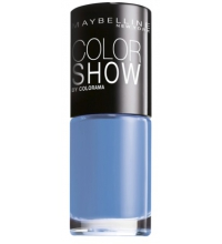 MAYBELLINE ESMALTE DE UÑAS COLOR SHOW 286 MAYBE BLUE 7ML