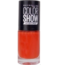 MAYBELLINE ESMALTE DE UÑAS COLOR SHOW 434 HOT PEPPER 7ML