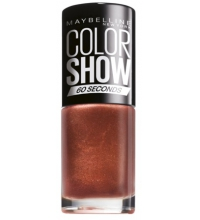 MAYBELLINE ESMALTE DE UÑAS COLOR SHOW 465 BRICK SHIMMER 7ML