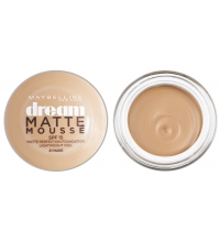 MAYBELLINE DREAM MAQUILLAJE MOUSSE ACABADO MATE 21 NUDE SPF15 18 ML