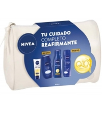 NIVEA BODY PACK REAFIRMANTE CREMA 100ML + GEL 250ML + B/M 400ML + DEO 200ML + NECESER