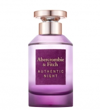 ABERCROMBIE & FITCH AUTHENTIC NIGHT WOMAN EDP 100 ML