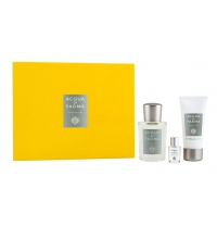 ACQUA DI PARMA COLONIA PURA SET EDC 100 ML+ S/GEL 75 ML + MINI 5 ML SET