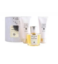 ACQUA DI PARMA MAGNOLIA NOBILE EDP 100 ML + S/G 75 ML + B/L 75 ML SET REGALO
