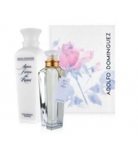 ADOLFO DOMINGUEZ AGUA FRESCA DE ROSAS EDT 200 ML + B/L 500 ML SET REGALO