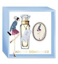 ADOLFO DOMINGUEZ AGUA FRESCA DE ROSAS EDT 60 ML VP. + COLGANTE SET