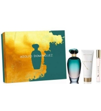 ADOLFO DOMINGUEZ UNICA EDT 100 ML + B/L 75 ML + EDT 10 ML SET REGALO