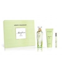 ADOLFO DOMINGUEZ AGUA FRESCA DE AZAHAR EDT 120ML + LOCIÓN CORPORAL 75 ML + 10 ML SET REGALO