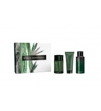 ADOLFO DOMINGUEZ BAMBU MAN EDT 120 ML + A/S BALM 75 ML + DEO VAPO 150 ML SET