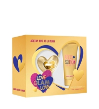 AGATHA RUIZ DE LA PRADA LOVE GLAM EDT 50 ML + B/LOC 100 ML SET REGALO