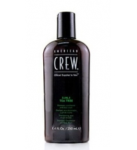 AMERICAN CREW TEA TREE 3IN1 SHAMPOO,CONDITIONER AND BODY WASH 250ML