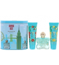 ANNA SUI ROMANTICA EXOTICA EDT 50 ML + B/L 100 ML + GEL 100 ML + CAJA MUSICAL SET