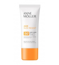 ANNE MOLLER AGE SUN RESIST CREMA FACIAL SPF 50+ 50 ML