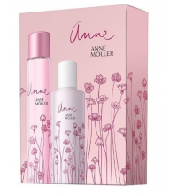 ANNE MOLLER ANNE EDT 100 ML + B/LOC 200 ML SET REGALO