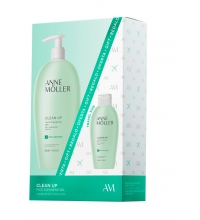 ANNE MOLLER CLEAN UP GEL LIMPIADOR FACIAL 400 ML + GEL LIMPIADOR FACIAL 100 ML SUPEROFERTA!!!