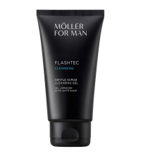 ANNE MOLLER FOR MAN FLASHTEC SCRUB CLEANSING GEL 125 ML