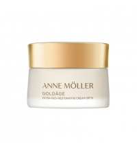 ANNE MOLLER ADN GOLDAGE  EXTRA RICH RESTORATIVE CREAM SPF 15 50 ML