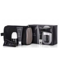 ANNE MOLLER FOR MAN FLASHTEC CREMA ANTIIRRITACION 50 ML + EXFOLIANTE + DEO+ NECESER SET
