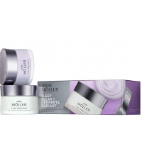 ANNE MOLLER TIME PREVENT CREME LUMIERE 50 ML + BALSAMO REPARADOR NOCHE 50 ML SET P/NORMALES