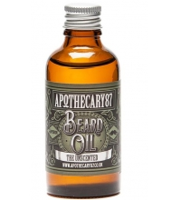 APOTHECARY 87 THE UNSCENTED RECIPE BEARD ACEITE CUIDADO BARBA SIN PERFUME 10ML