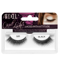 ARDELL CORSET LASHES LACED WITH ATTITUDE 500 BLACK