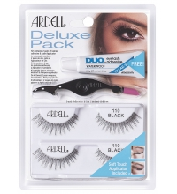 ARDELL PESTAÑAS DELUXE PACK 110 BLACK