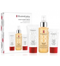 ELIZABETH ARDEN EIGHT HOUR MIRACLE OIL 100 ML + PROT. CREAM 15 ML + HAND CREAM 30 ML SET