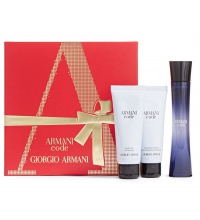 ARMANI CODE FEMME EDP 75 ML + B/L 75 ML + GEL 75 ML SET REGALO