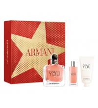 EMPORIO ARMANI IN LOVE WITH YOU EDP 100 ML + MINI 15 ML + CREMA MANOS 50 ML SET REGALO