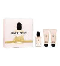 ARMANI SI EDP 50 ML + B/L 75 ML + GEL DUCHA 75 ML SET REGALO
