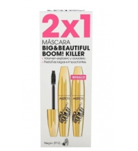 ASTOR BIG & BEAUTIFUL BOOM KILLER MASCARA PESTAÑAS 910 BLACK 2X1