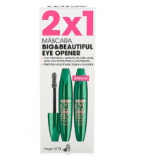 ASTOR BIG & BEAUTIFUL EYE OPEN MASCARA PESTAÑAS 910 BLACK 2X1