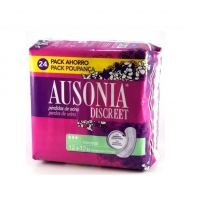 AUSONIA DISCREET COMPRESAS NORMAL 12 +12 UNIDADES